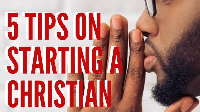 5 Tips to start a Christian based foundational Business